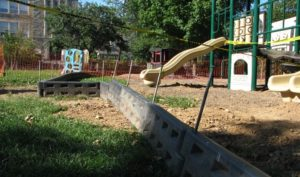 this is an image of playground construction and maintenance in washington dc