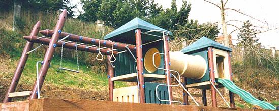 Fort Cumberland Structure Playground Equipment Usa