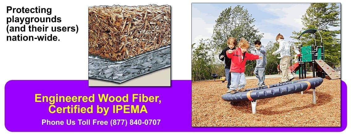 playground mulch and engineered wood fiber