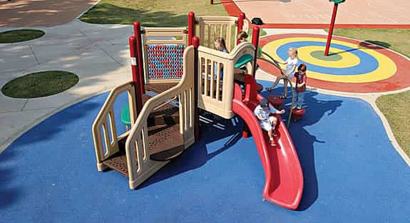 playground modular for ages 2 to 5