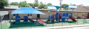 shade structure for a school