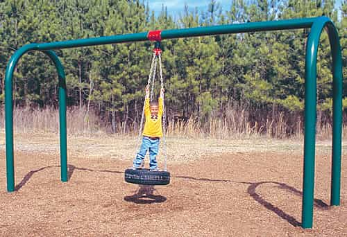 Arch Post Tire Swing Sets Playground Equipment Usa