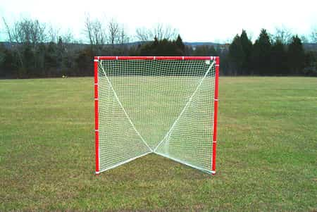 a lacrosse goal post net