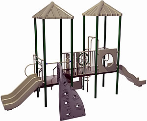 commercial playground structures