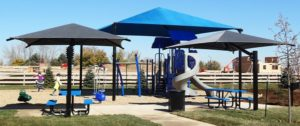 shade at a park