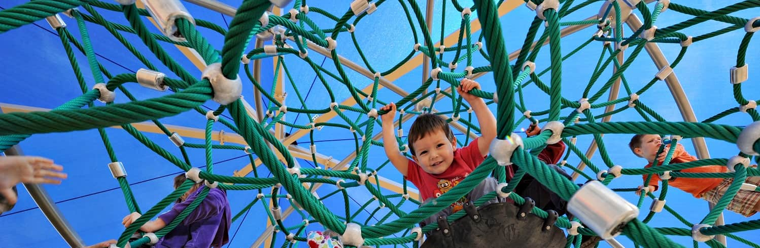 We are an authorized dealer of Dynamo Playground Equipment